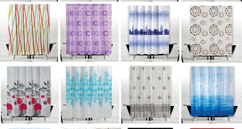 Elegant Shower Curtains Homebase Dkbzaweb