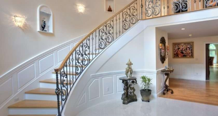 Elegant Whole House Remodel Traditional Staircase