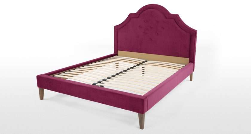 Eloise Pink Double Bed Made