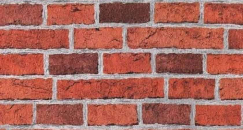 Embossed Red Brick Very Realistic Textured