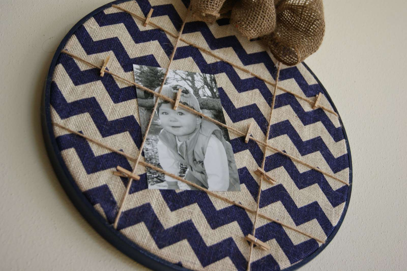 Embroidery Hoop Memo Board Silly Girl Kitchen