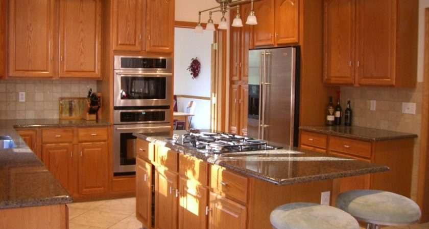 Engaging Small Square Kitchen Design
