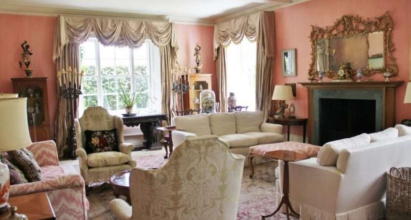 English Country Living Room Paint Home Design Ideas