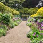 English Herbaceous Borders Ascott House Gardens Bedfordshire