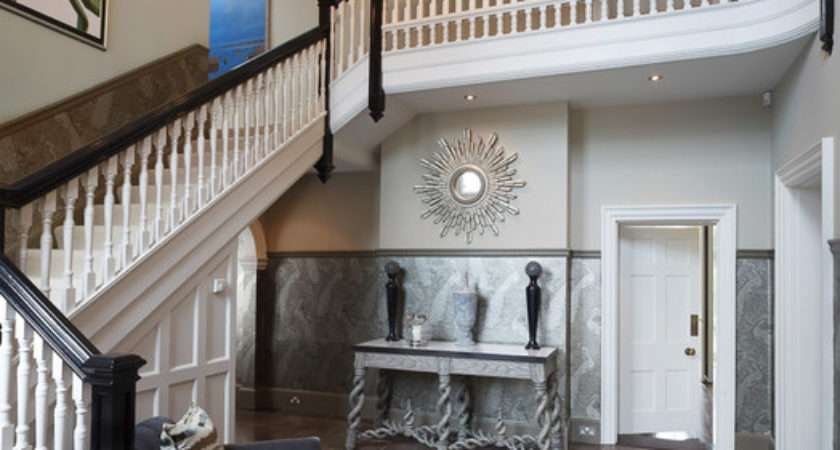 Entrance Hall Edwardian Country House Eclectic