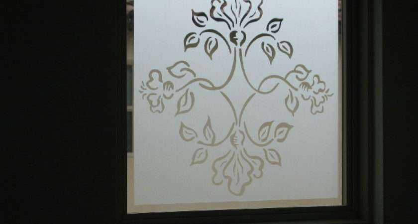Etched Glass Series Calon Graphic