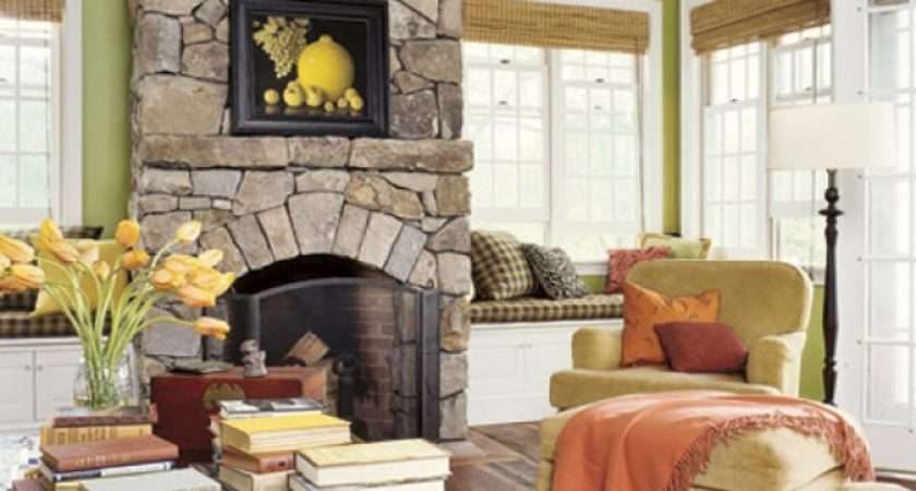 Europe Modern Country Living Room Design