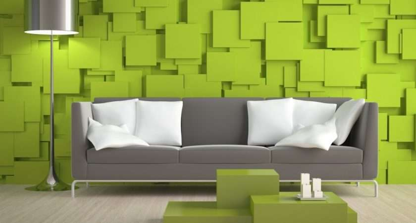 Excellent Lime Green Living Room