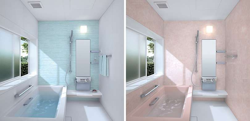 Excellent Small Bathroom Decorating Idea These Colored Bathrooms