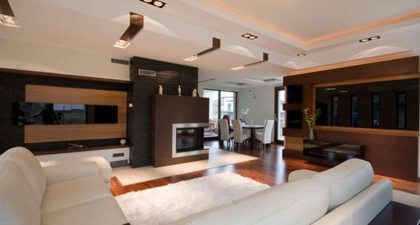 Exclusive Modern Living Room Lighting Decorating House