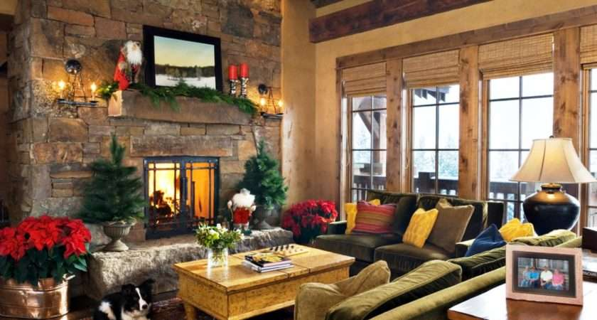 Exquisite Christmas Living Room Decorating Ideas