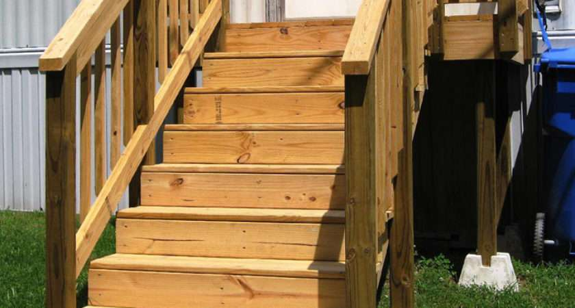 Exterior Stairs Mobile Homesmobile Homes Ideas