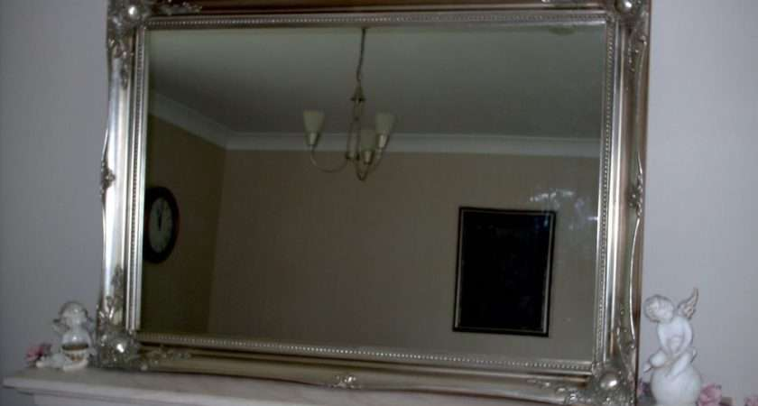 Extra Large Silver Wall Mirror Now Sale Off Ebay