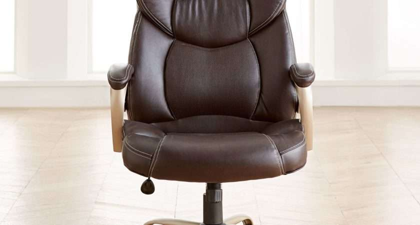 Extra Wide Memory Foam Office Chair Plus Chairs