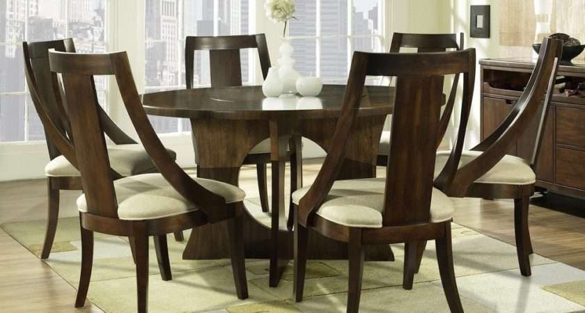 Eyecatching Round Dining Room Tables Design Ideas