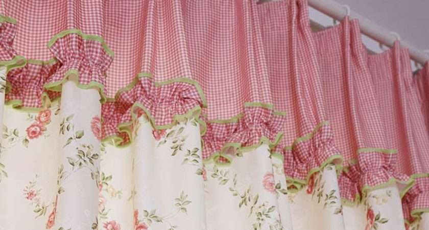 Eyelet Curtain Panels Pink Country Curtains Drop Ectryb