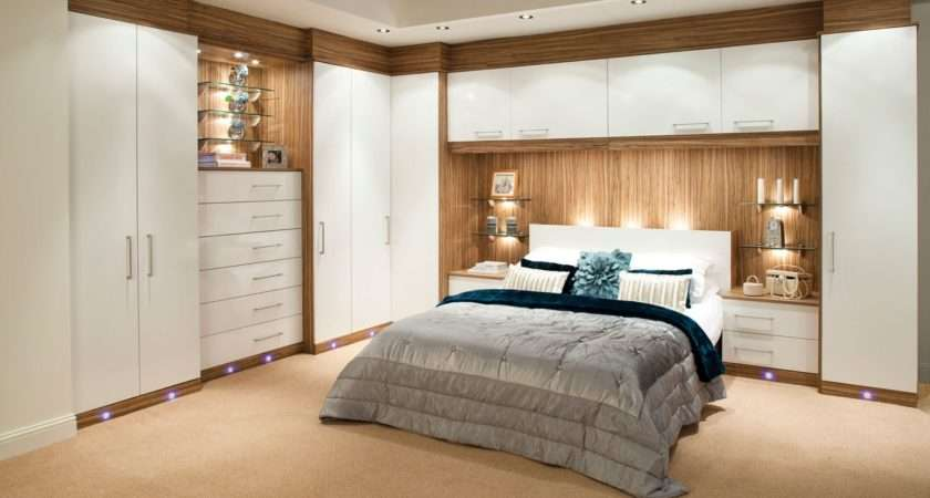 Fabulous Bedroom Design Wall Led Lamp Modern Fitted Furniture