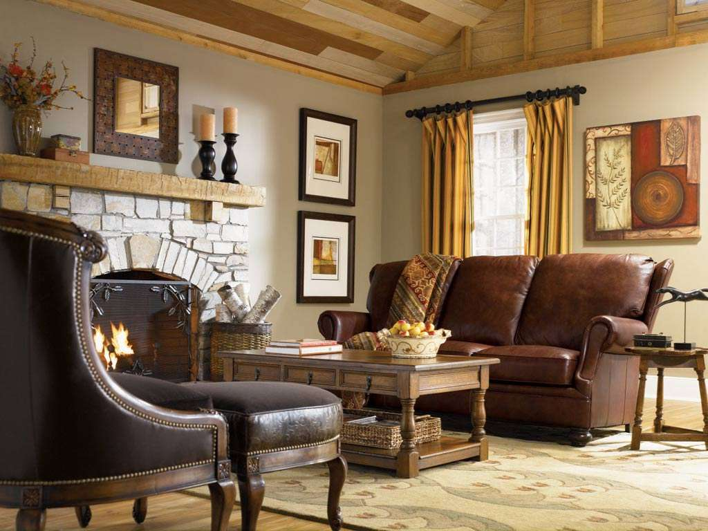 Fabulous Country Style Living Room Decorating Ideas