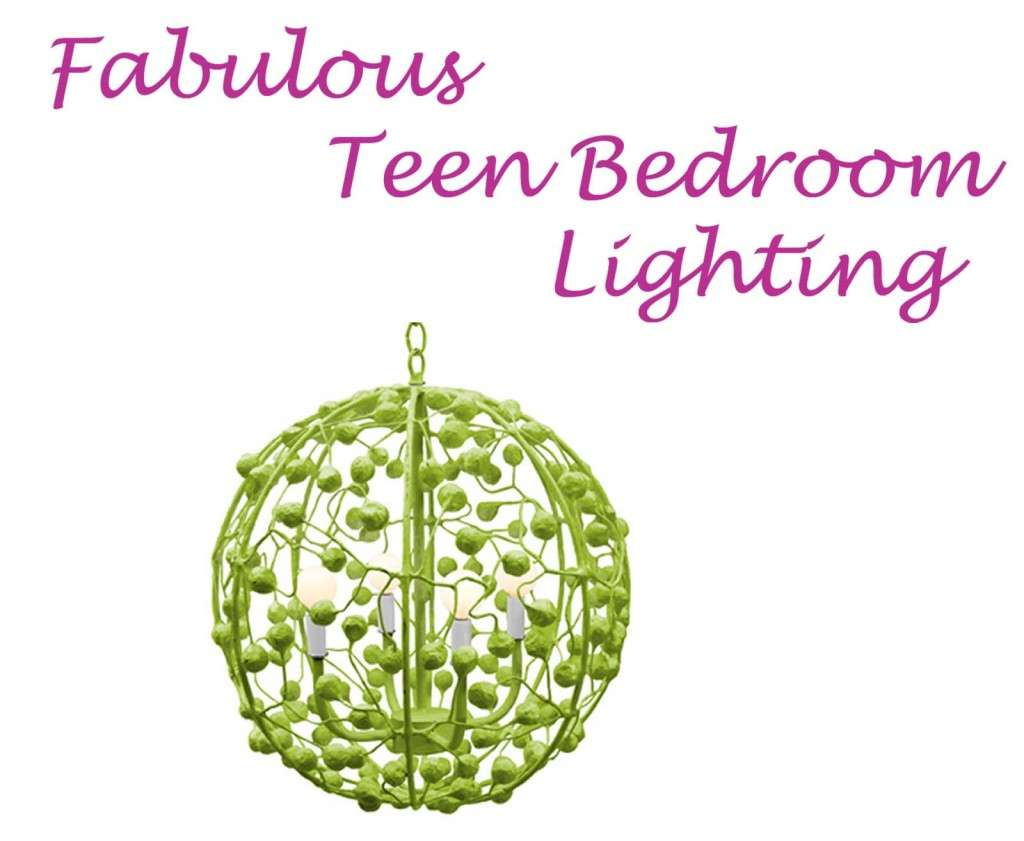 Fabulous Teen Bedroom Lighting Lime Green Chandelier Girls Rooms