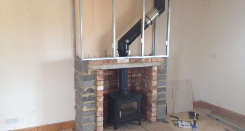 False Chimney Breast Fitted Colesforfires Ideas