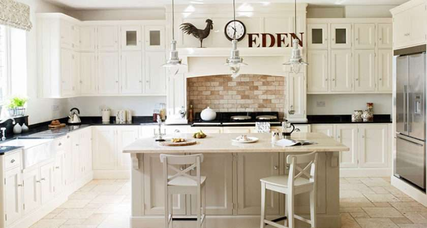 Farrow Ball Shaded White Pointing Painted Kitchen