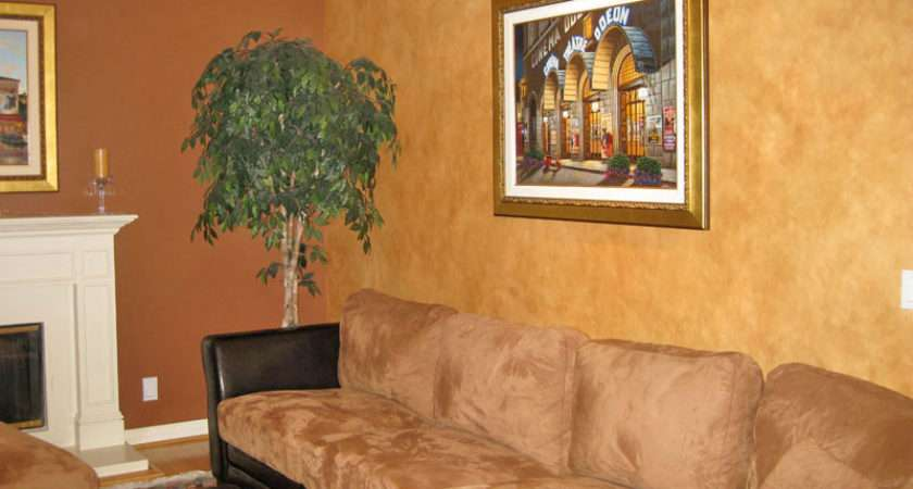 Faux Wall Finishes Examples Hand Painted Treatments
