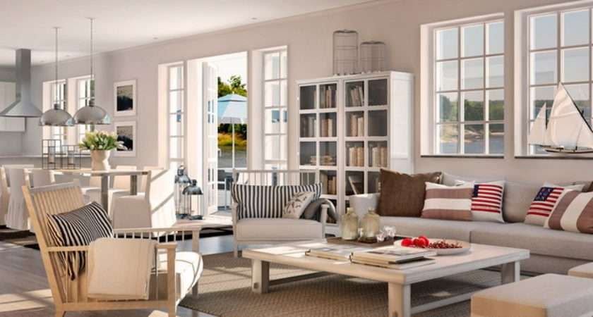 Feel Like New England Style Decor Shown Above