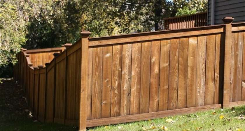 First Wood Privacy Fencing Classic American Fence Type