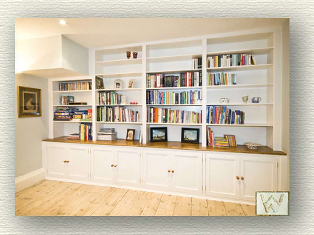 Fitted Bookshelves Carpentry Joinery Job Aylesbury