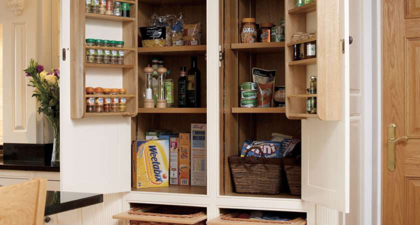 Fitted Kitchen Larder Bespoke Furniture Company