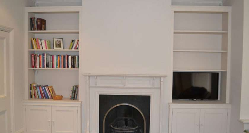 Fitted Living Room Cabinet