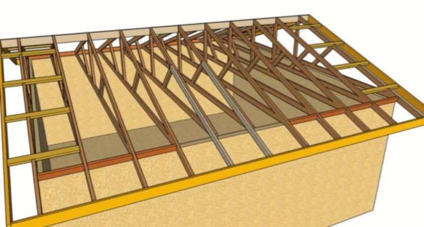 Fix Sagging Roof Overhang Nailing New Rafters Next Truss