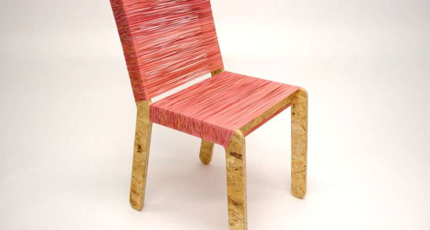 Flat Pack Chairs Assembled Rubber Bands Rubberband Chair