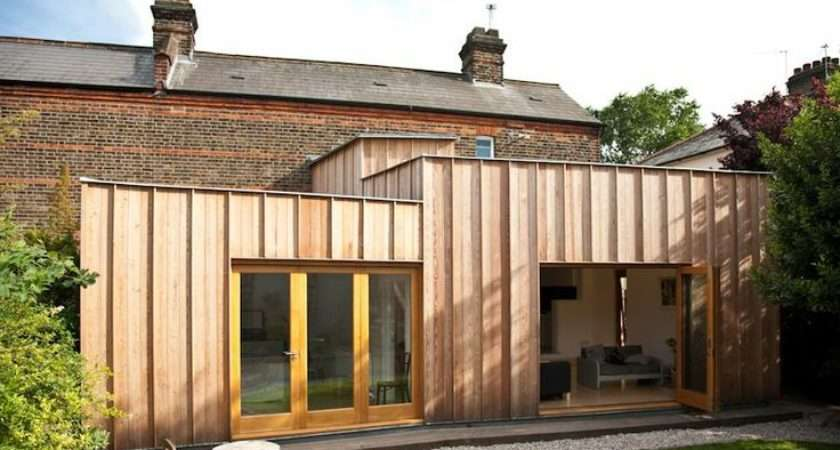 Flat Pack Extension House Pinterest