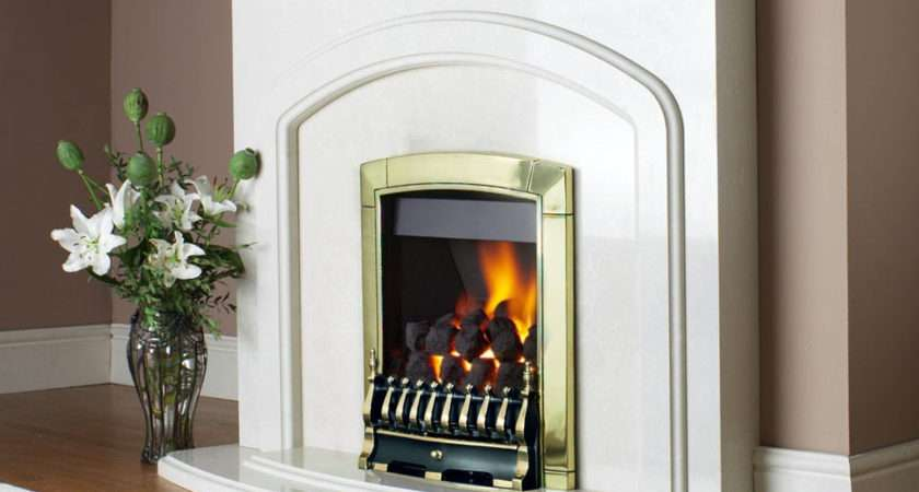Flavel Caress Traditional Remote Control Inset Gas Fire