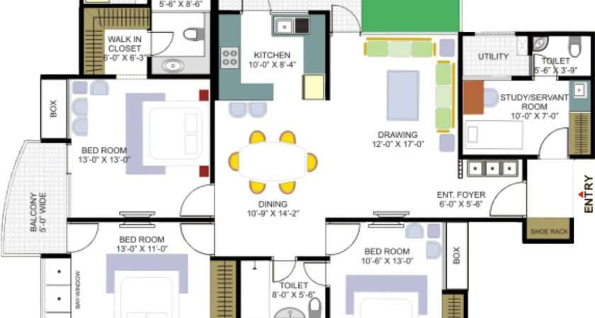 Floor Plans House Home Interior Design