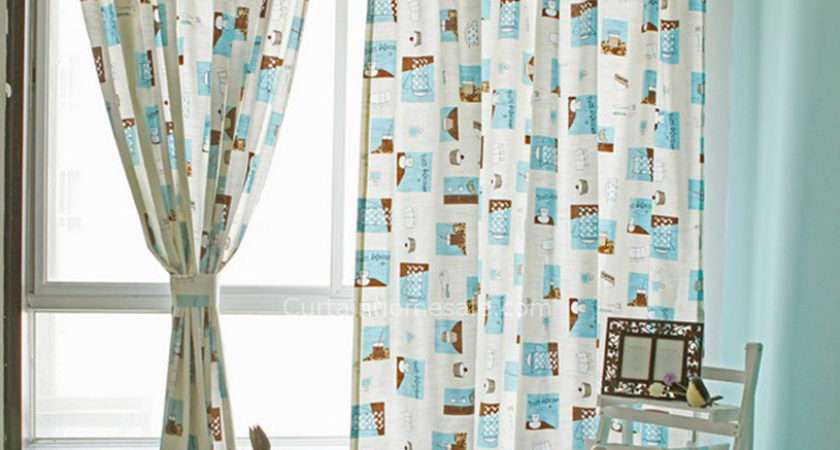 Floral Patterned Punching Eyelet Bedroom Best Home Fashion Curtains