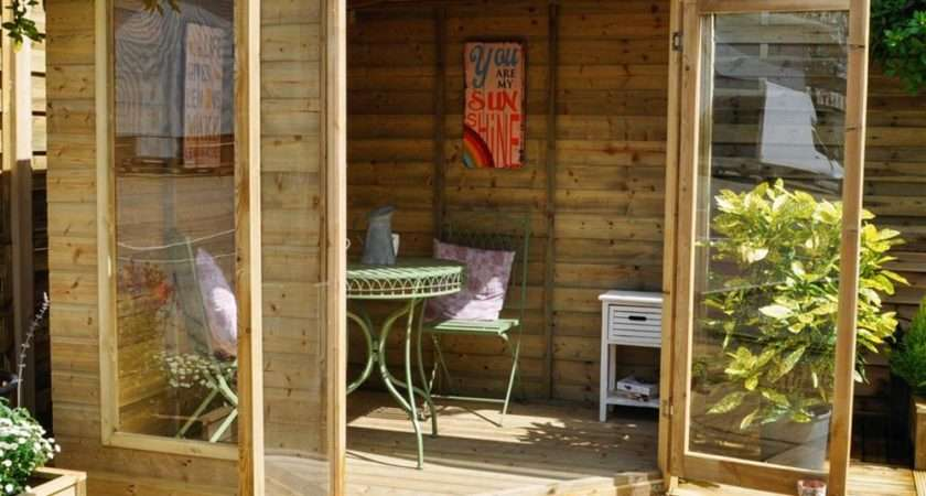 Forest Garden Blockley Corner Summerhouse Internet Gardener
