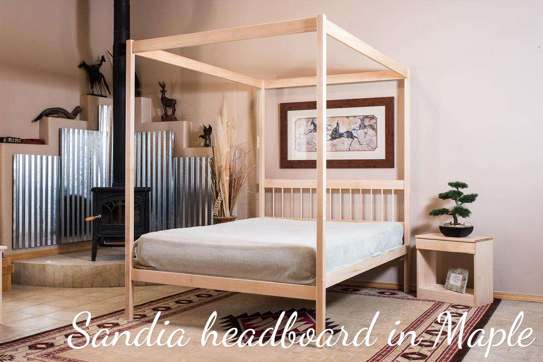 Frames Untreated Non Toxic Solid Wood Bed Frame Poster