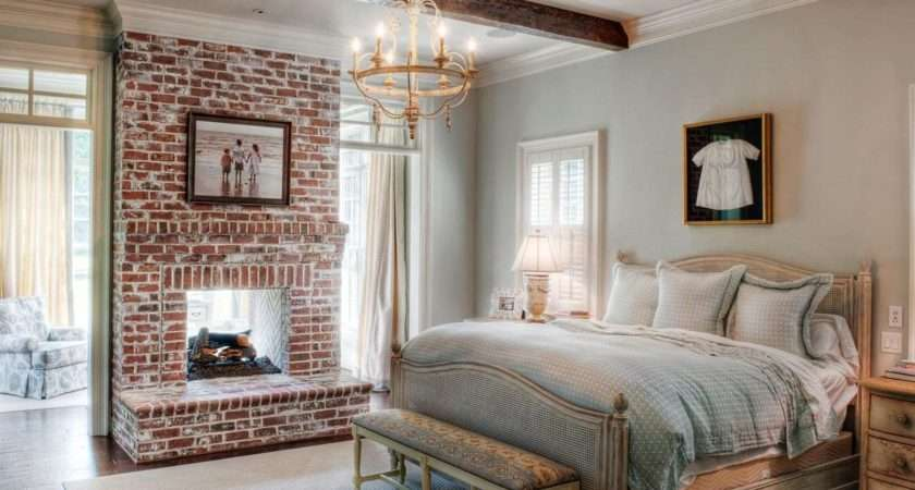 French Country Bedroom Ideas Glass Balls Table Lamps Wall