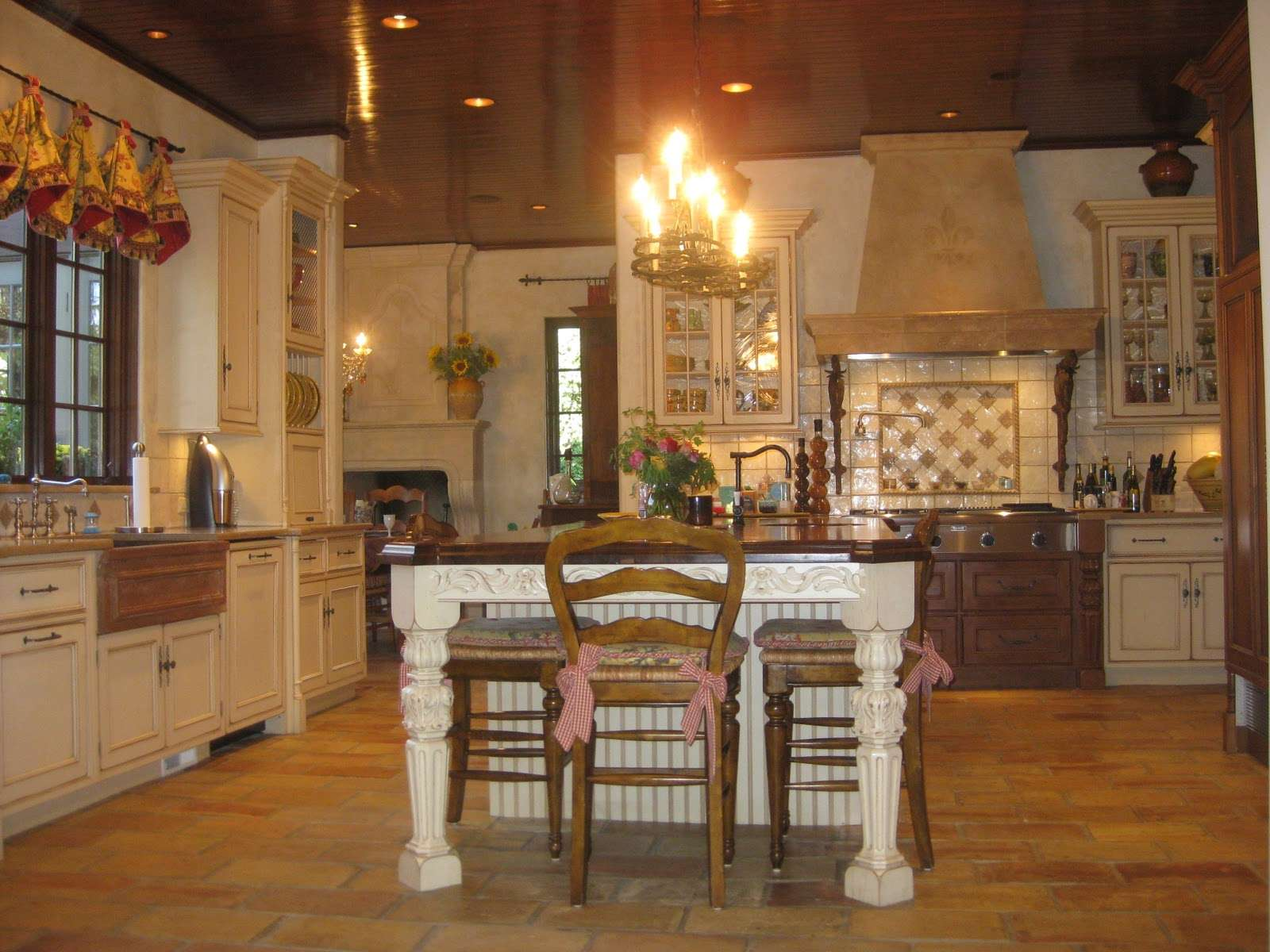 French Country Kitchens Kitchen Kims
