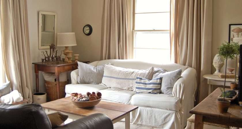 French Country Living Room Drapes Curtains Doherty
