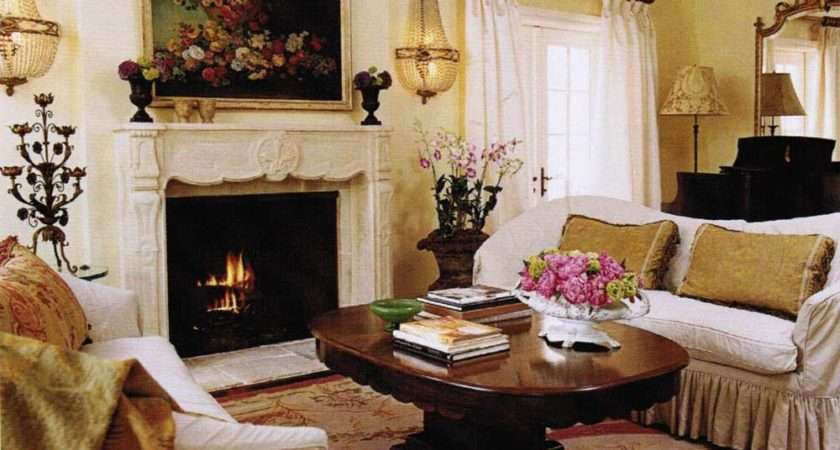 French Country Living Room Style