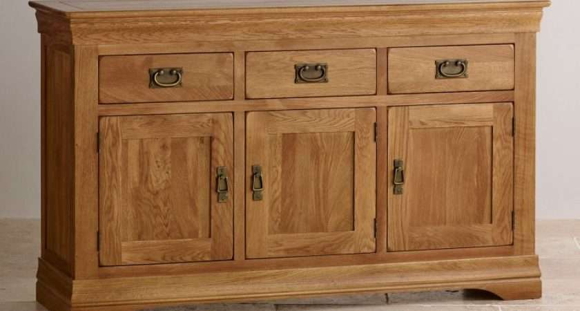 French Farmhouse Large Sideboard Rustic Solid Oak