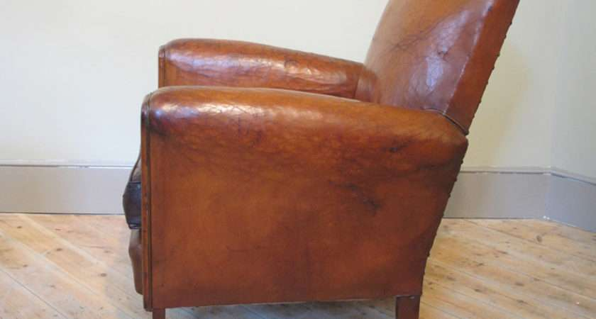 French Leather Armchair Sofas Armchairs Occassional Chairs