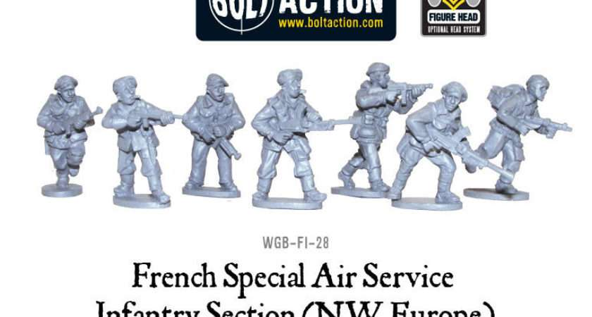French Sas Nwe Sections Warlord Games