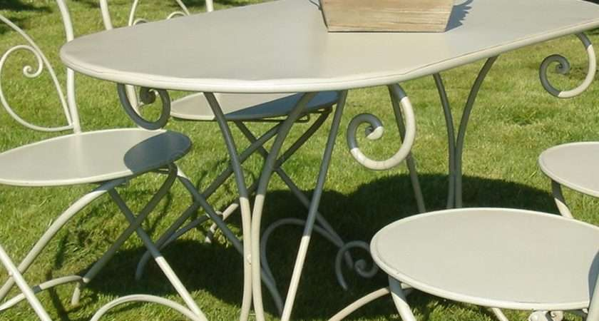 French Style Garden Furniture Table Bliss Bloom Ltd