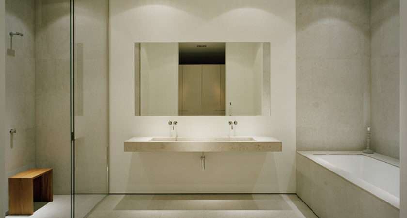 Fresh Minimal Bathroom Design Lentine Marine
