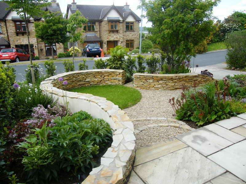 Front Garden Design Ideas Stone