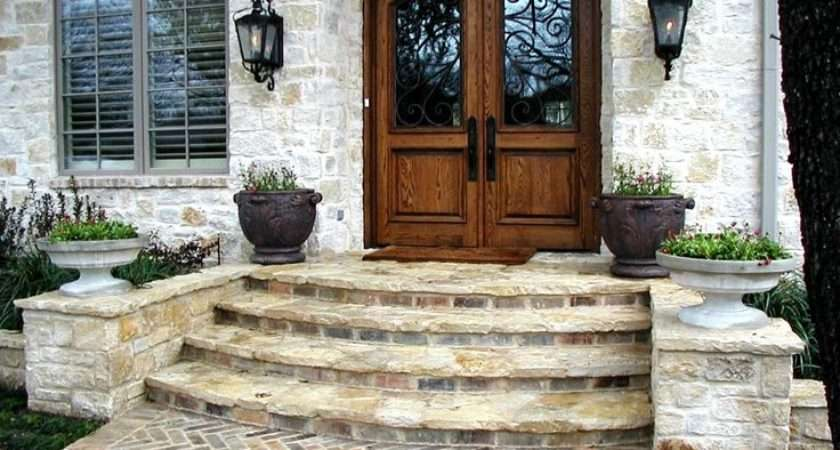Front Steps Outdoors Pinterest Entrance